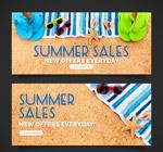 夏季沙滩销售bann