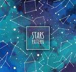 天空星星无缝背景