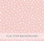 白色星星无缝背景
