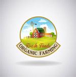 新鲜农场食物标签
