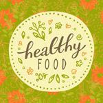 花草健康食品徽章
