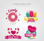 彩色糖果店标志