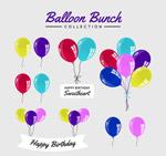 彩色气球设计