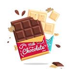 巧克力板矢量