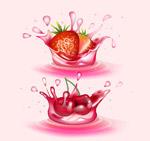 溅起的果汁