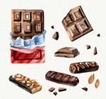 手绘美味巧克力