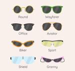 8款时尚墨镜