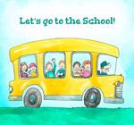 坐满学生的校车