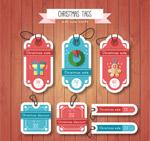 圣诞节促销吊牌