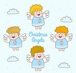 4款可爱金发天使