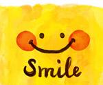 红脸蛋黄色笑脸