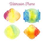 水彩绘框架