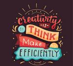 彩绘创造力隽语