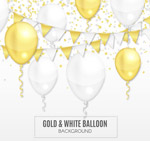 节日气球矢量