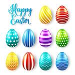 花纹复活节彩蛋