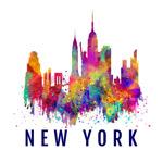 彩绘纽约建筑