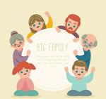 大家庭人物框架