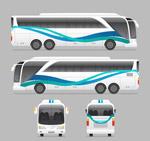 巴士正面和侧面