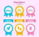 婴儿丝带标签