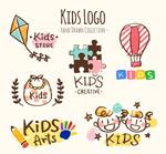 儿童元素标志
