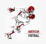 美式橄榄球球员