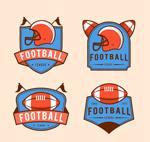 美式橄榄球标签