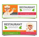 厨师餐馆banner
