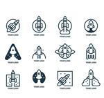 创意火箭标志