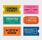 创意单人电影票