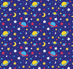 宇宙星体无缝背景