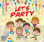 派对上的儿童