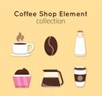 咖啡元素图标