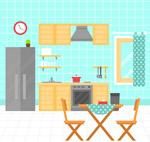 彩色厨房设计