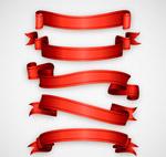 红色丝带条幅