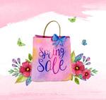 春季销售购物袋