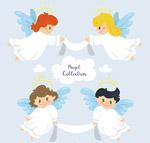 可爱白色天使