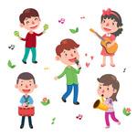 卡通音乐儿童