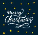 星星圣诞贺卡
