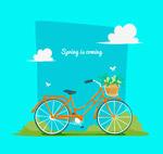 春季郊外单车