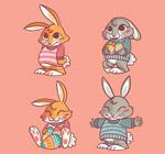 彩�L兔子�O�