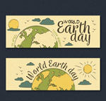 彩绘世界地球日