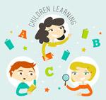 学习儿童矢量