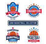 扁平化篮球标志