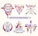 波西米亚风徽章