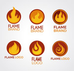 创意火焰商标