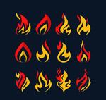 12款双色火焰