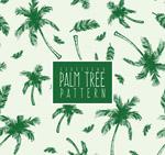 棕榈树无缝背景