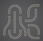 9款创意铁路轨道