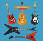 时尚电吉他设计