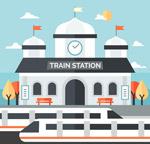现代火车站设计